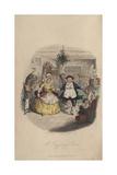 Fezziwig's Ball - a Christmas Carol, 1843 Giclee Print by John Leech