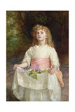 Lilacs, 1885 Giclee Print by John Everett Millais