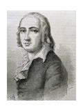 Holderlin, Friedrich (1770-1843). German Lyric Poet Giclee Print