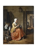 The Lace Maker, C.1831 Giclee Print by Wybrand Hendriks