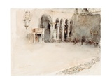 A Morning in St. Mark's Giclee Print by Robert Frederick Blum