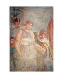 Helen Returning to Troy, from the House of the Tragic Poet, Pompeii Giclee Print