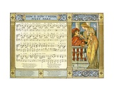 Now, Oh, Now, I Needs Must Part', Song Illustration from 'Pan-Pipes', a Book of Old Songs, Newly… Giclee Print by Walter Crane