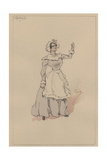 Hortense, C.1920s Giclee Print by Joseph Clayton Clarke