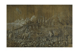 Landaknechten, Battle on a Bridge Giclee Print by Albrecht Altdorfer