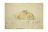 Fort in Srinagar, Kashmir, 1838 Giclee Print by Godfrey Thomas Vigne