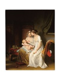 The Wet Nurse, C.1802 Giclee Print by Marguerite Gerard