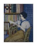 Woman Reading Giclee Print by  Torajiro Kojima