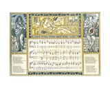 Love Will Find Out the Way', Song Illustration from 'Pan-Pipes', a Book of Old Songs, Newly… Giclee Print by Walter Crane