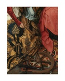 Detail of the Central Panel of the Triptych of Saint John the Baptist and Saint John the… Giclee Print by Hans Memling