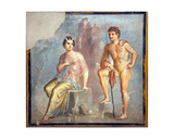 Io and Argo, from the House of Meleager, Pompeii Giclee Print