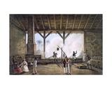 Vista De Una Casa De Calderas, or Boiler House Giclee Print