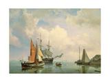 Marine Giclee Print by Johannes Hermanus Koekkoek
