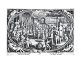 Ver, Engraved by Philip Galle, C.1580 Giclee Print by Jan van der Straet