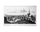 The Prospect of Ye Town of Glasgow from Ye North East, from 'Theatrum Scotiae' by John Slezer,… Giclee Print by John Slezer