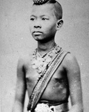 Vietnamese or Cambodian Boy, C.1870s Photographic Print by Emile Gsell