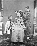 Manchu Ladies, C.1867-72 Photographic Print by John Thomson