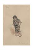 The Boy - the Haunted Man and the Ghost's Bargain, C.1920s Lámina giclée por Joseph Clayton Clarke