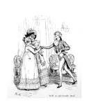 With an Affectionate Smile', Illustration from 'Pride and Prejudice' by Jane Austen, Edition… Giclee Print by Hugh Thomson