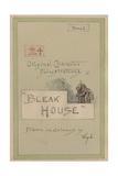 Title Page, Illustrations for 'Bleak House', Part 1, C.1920s Lámina giclée por Joseph Clayton Clarke