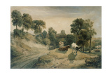 Kneeton-On-The-Hill, C.1815-16 Giclee Print by Peter De Wint