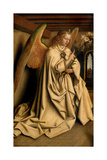 Angel Annunciate, from the Exterior of the Left Wing of the Ghent Altarpiece, 1432 (See 472325) Giclee Print by Hubert & Jan Van Eyck