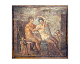 Ares and Aphrodite, from the House of Meleager, Pompeii Giclee Print