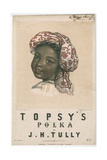 Topsy's Polka, 1852 Giclee Print by Louisa Corbaux
