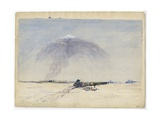 Wagon Stuck in a Salt Plain, 1862 Giclee Print by Thomas Baines