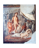 Dionysus and Arianna, from the House of the Capitals, Pompeii Giclee Print