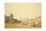 Muzaffarabad - Baramula Pass, Kashmir, 1835 Giclee Print by Godfrey Thomas Vigne