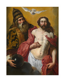The Holy Trinity Giclee Print by Artus Wolfaerts or Wolffort