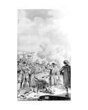 The Execution of Jacobite Rebels on Kennington Common, 1746 Giclee Print by Samuel Wale