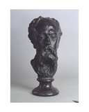 Head of the Artist Paul De Vigne, 1880 Giclee Print by Auguste Rodin