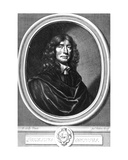 John Ogilby, Frontispiece to 'Works of Publius Virgilius Maro', Engraved by William Faithorne,… Giclee Print by Sir Peter Lely