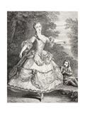 Marie Salle, 1875 Giclee Print