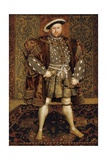 King Henry Viii Giclee Print by Hans Holbein the Younger