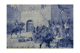 The Siege of the Castle of Torres Novas. Portugal Giclee Print