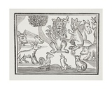 The History of Reynard the Fox, Illustration from 'Chap-Books of the Eighteenth Century' by John… Giclee Print