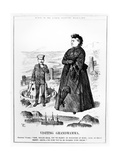Visiting Grandmamma  Illustration from 'Punch'  Published August 3 1889