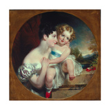 Mother and Child, C.1840-45 Giclee Print by John Wood