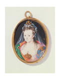 Miniature of Arabella Stuart, Duchess of Lennox, 1593 Giclee Print by Nicholas Hilliard