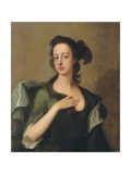 Portrait of Margaret Cavendish Bentinck, 2nd Duchess of Portland Giclee Print by Michael Dahl