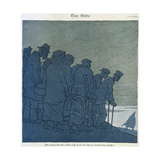 First World War (1914-1918). 'The End.' Th.Heine Cartoon Published in the Magazine… Giclee Print