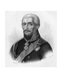 General Gebhard Leberecht Von Blücher, Engraved by Adam Smith Giclee Print by Heinrich Anton Dahling