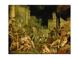 Bacchus in the Court of Midas Giclee Print by Dirk Valkenburg