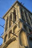 Persian Badgir, or Wind Tower, in the Bastakia Quarter of Old Dubai Photographic Print