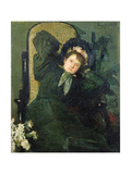 My Daughter, C.1877 Giclee Print by John Butler Yeats