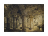 Roslyn Chapel, 1810 Giclee Print by Joseph Michael Gandy