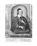 Christopher Love, C.1651 Giclee Print by Abraham Conradus